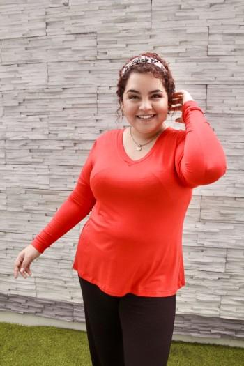 Básico Sandra - Color rojo