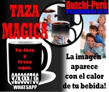 ✮Taza MAGICA 11onz  personalizada 100% TU