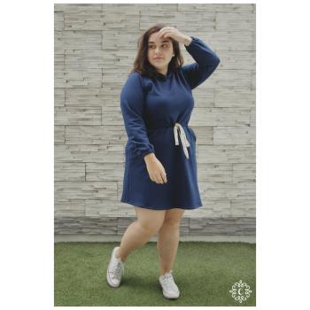 Vestido Adriana - Color azul