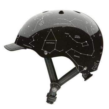 Casco Nutcase Street Constellations - Negro
