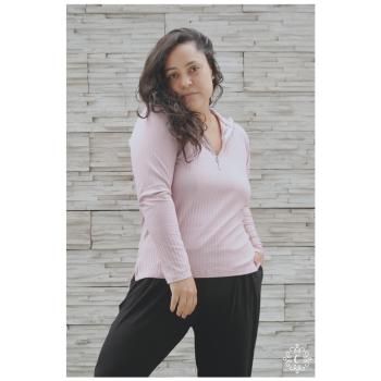 Polo Aurelia - Color rosa