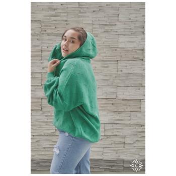 Sweater tejido Thelma - Color verde