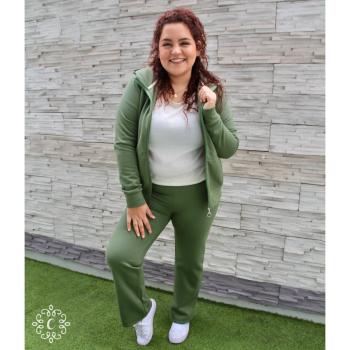 Buzo Mariana - Color verde olivo