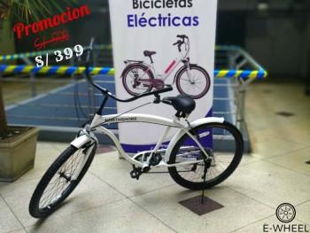 Bicicleta Urbana tipo Cruiser