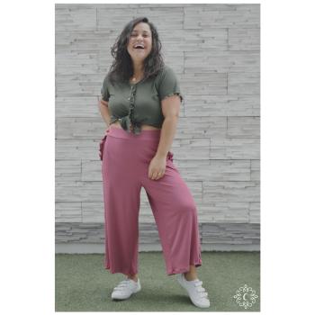 Culotte Didi - Color ciruela