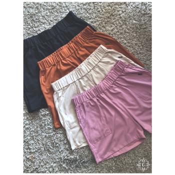 Shorts Dani - Color canela