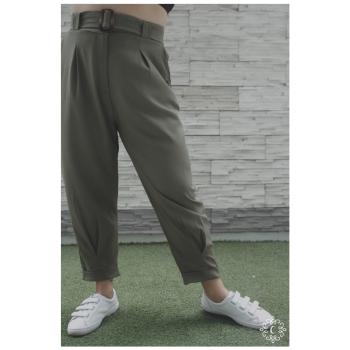 Slouchy pants Joa - Color verde