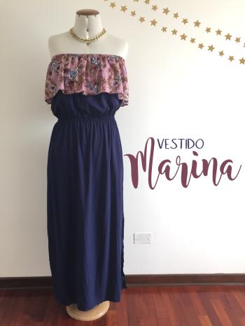 Maxi vestido Marina