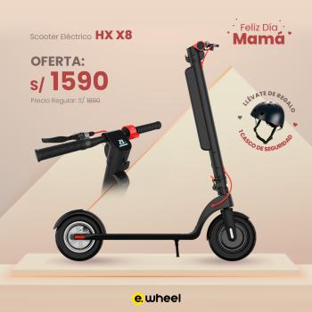 Scooter Eléctrico HX X8 motor 350w