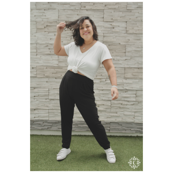 Yoga Pants Felicia - Color negro